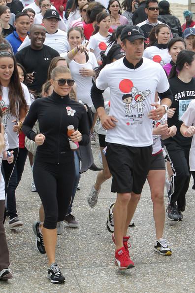 Dianna Agron and Teresa Palmer Run For Japan!