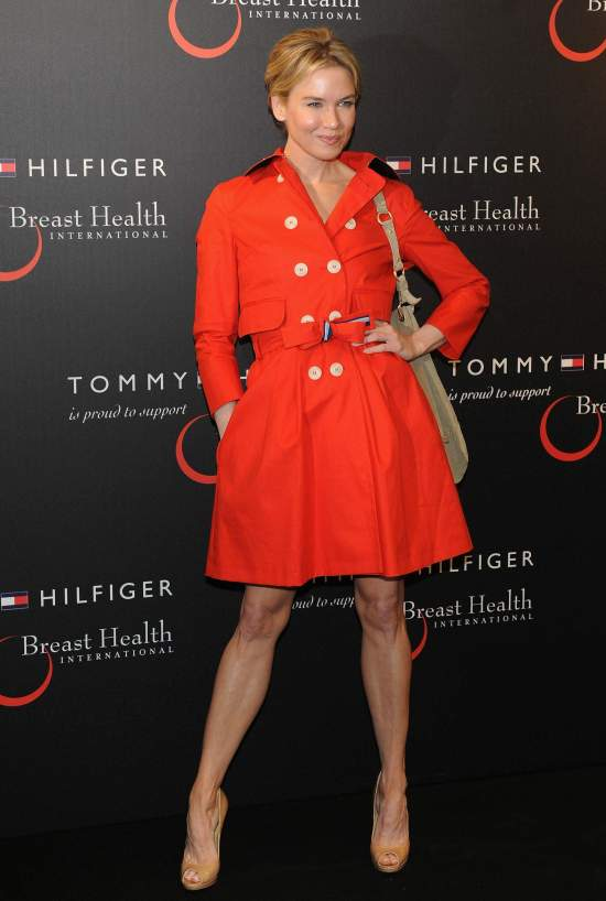 Renee Zellweger attends Tommy Hilfiger Limited Edition Bag Launch