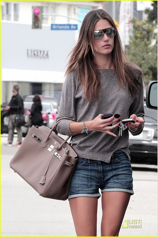 Alessandra Ambrosio out and about shopping in Hollywood