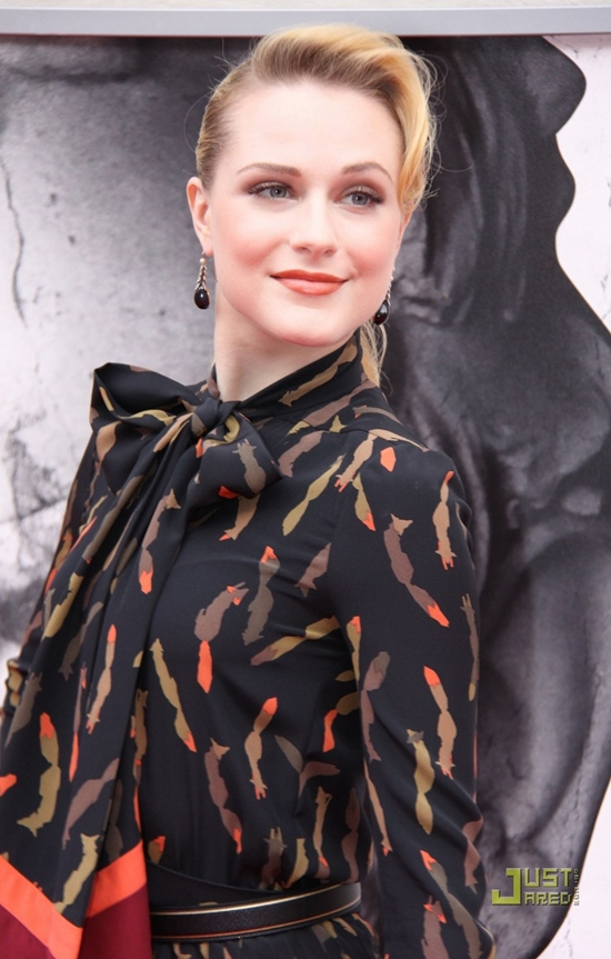 Evan Rachel Wood at the