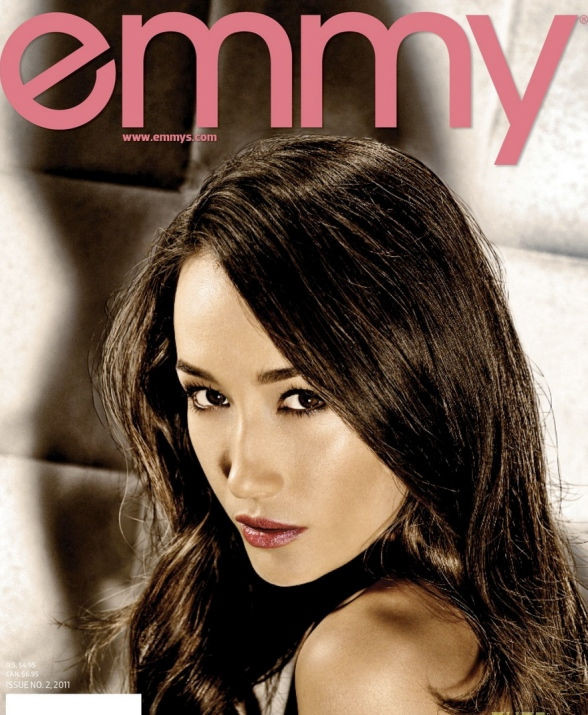 Maggie Q Covers 'Emmy' Magazine