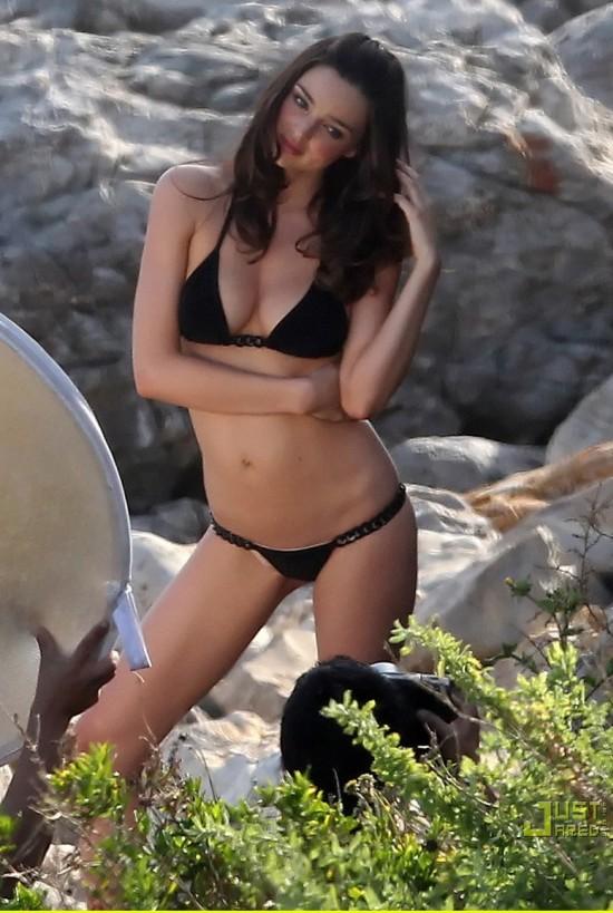 Miranda Kerr – Victoria's Secret photoshoot Apr 17 2011