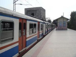 トルコの電車