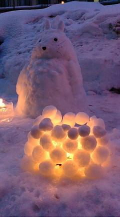 雪祭り!!