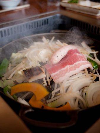 奥山 山の家 ジンギスカン料理
