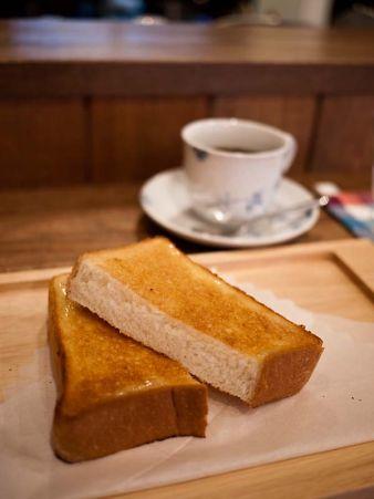 川内珈琲 すーたんのトースト