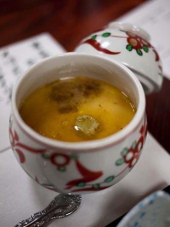 第3回お寿司屋さんコラボ フォアグラ茶碗蒸し