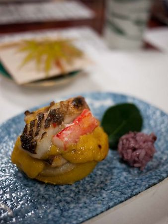 第3回お寿司屋さんコラボ 柚釜