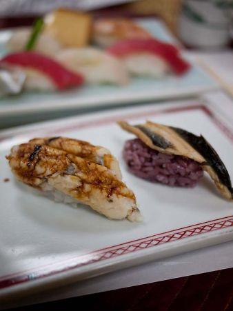 第3回お寿司屋さんコラボ 穴子とうなぎ