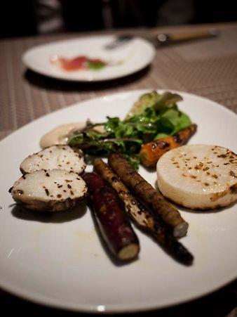 ル・コントワール・ド・ビオス 根野菜のグリル
