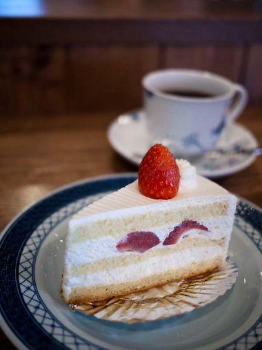 ストロベリーのケーキ