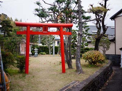 八剣神社 鳥居