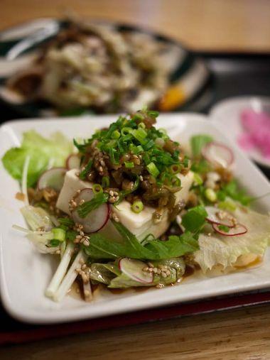 中華麺飯店 東仙 豆腐サラダ
