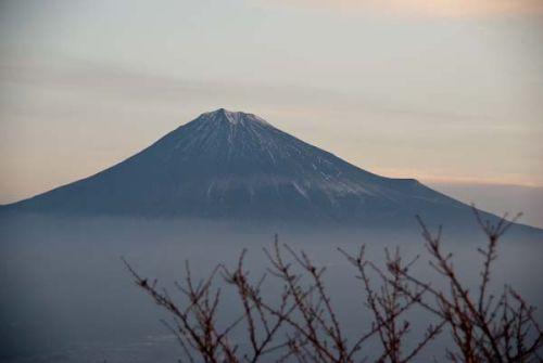浜石岳から富士山