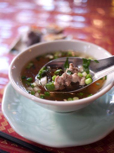 ナムタイ ランチのスープ