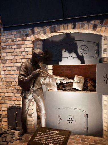 サントリー白洲蒸留所 ロビー銅像