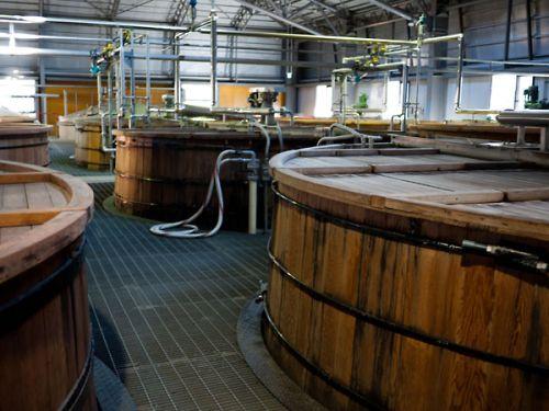 サントリー白洲蒸留所 発酵タル