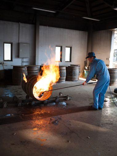 サントリー白洲工場 タル焼き