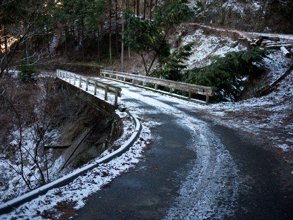 タイラ沢に向かう道