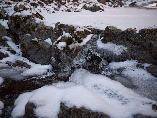 タイラ沢の大滝に向かう沢 06
