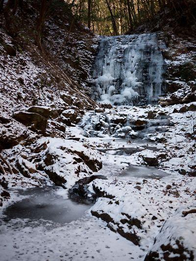 タイラ沢の大滝 2012_01