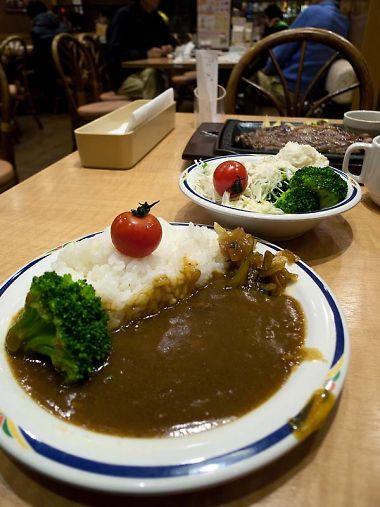 ステーキガスト 藤枝水守店 サラダバー カレー