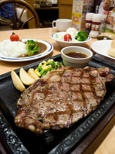 ステーキガスト 藤枝水守店 サーロインステーキ