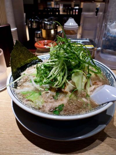 丸源ラーメン藤枝店 野菜肉そば