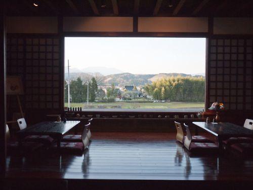 無上帑 窓からの景色