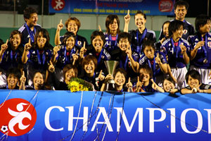 U-19女子選手権ベトナム2011 日本優勝!!