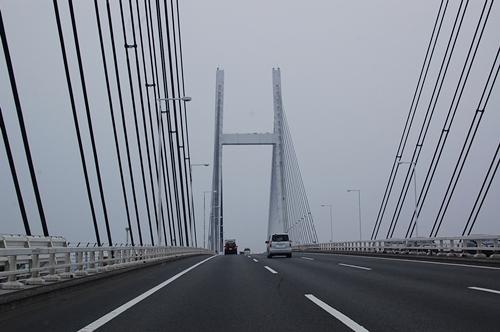 でけ~橋だな~
