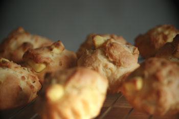 レモンピールクリームチーズmafin