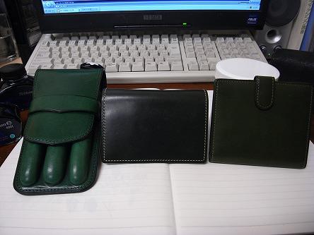 グリーンな革製品。