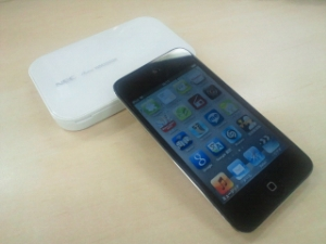 AtermWM3500RとiPod Touch