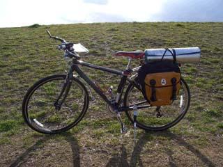 改造した自転車