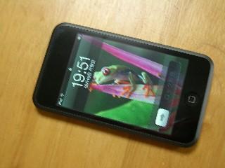 iPod touch、買っちゃいました。