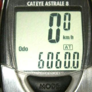 ODOが6000kmを超えました