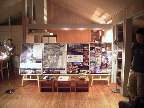 QMCHでのGood Design panelの展示