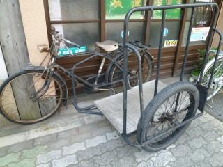 浅草 古自転車