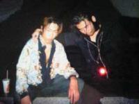 左が稲田兼一郎君で、右が僕です。