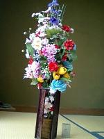 こんなに大きい花束は他に無いです。