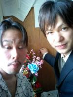右が有泉晴樹さんです。
