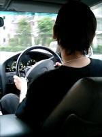 私はドライブも趣味です。