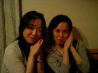 知子ちゃんと夏澄ちゃんです。