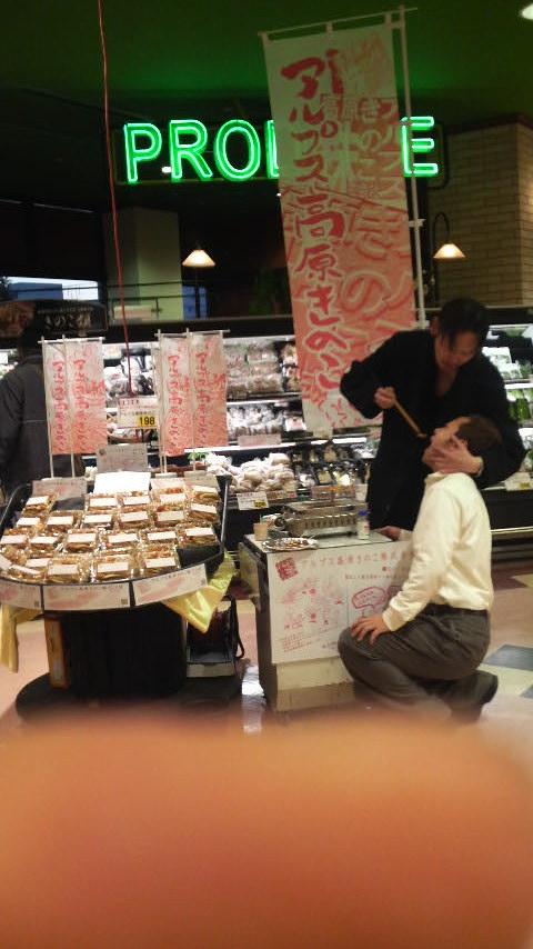 ときとして、強引さも優しさです。 (^_^) お客様の喜ぶ顔が見たいから…。
