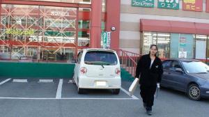 泉園バザー出品用商品の寄付用に近くのリサイクルショップで買い物。 新田勇介