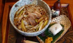 昇仙峡そば「せん」の秋は鴨南蛮蕎麦がオススメ
