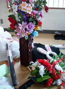 造花の花束