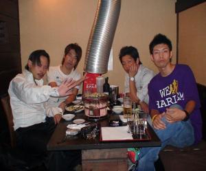 ヤマナシミライ会理事と会食