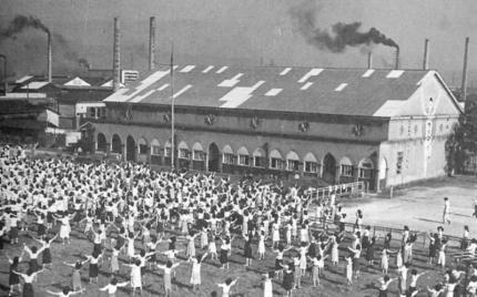 昭和29年ラジオ体操